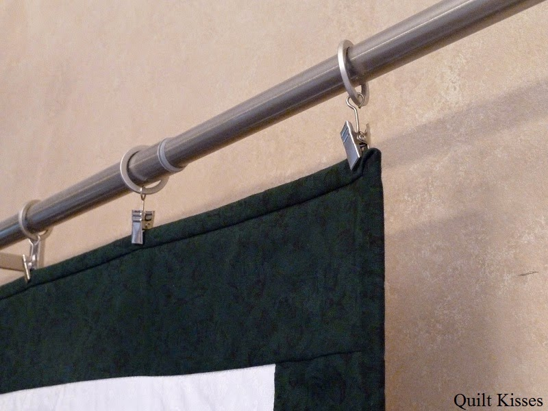 Quilt Kisses: Different Ways to Hang Quilts : rod to hang quilt on wall - Adamdwight.com