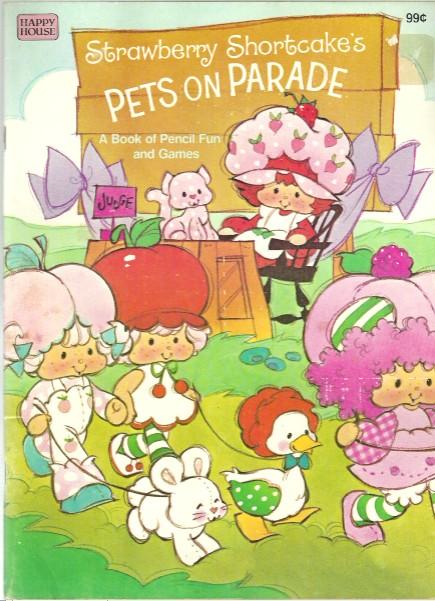 Toy-Addict.com: Strawberry Shortcake Coloring Books