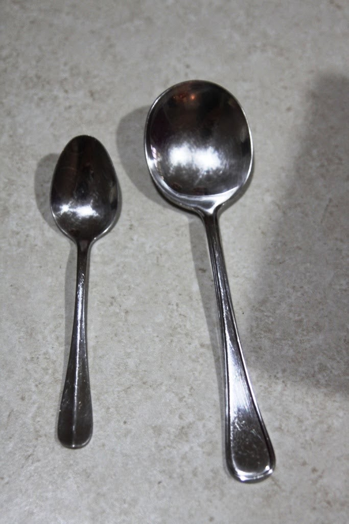Difference between teaspoon tablespoon south spicy for 1 table spoon to oz