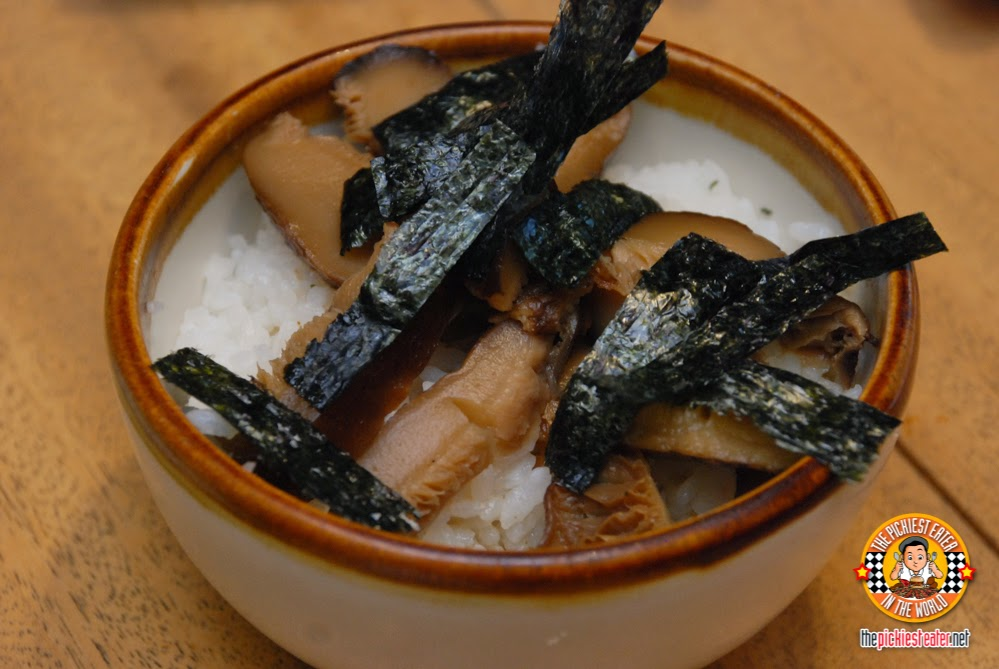 shiitake rice