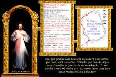 la corona a la divina misericordia