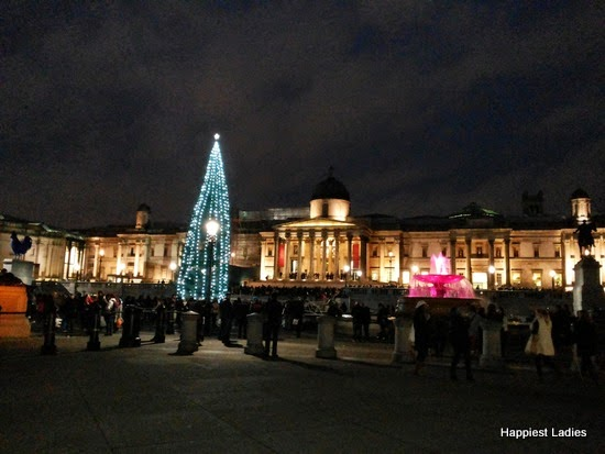 Christmas Tree at Trafalgar Square