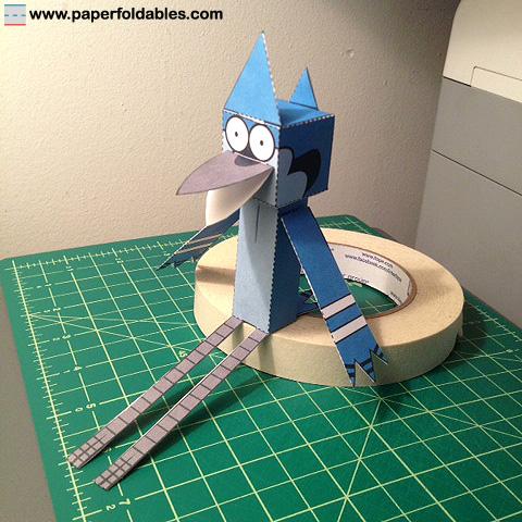Mordecai Papercraft