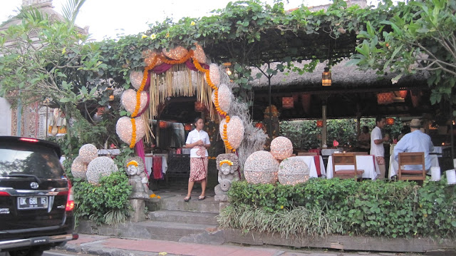 Restaurante en Ubud (Bali)