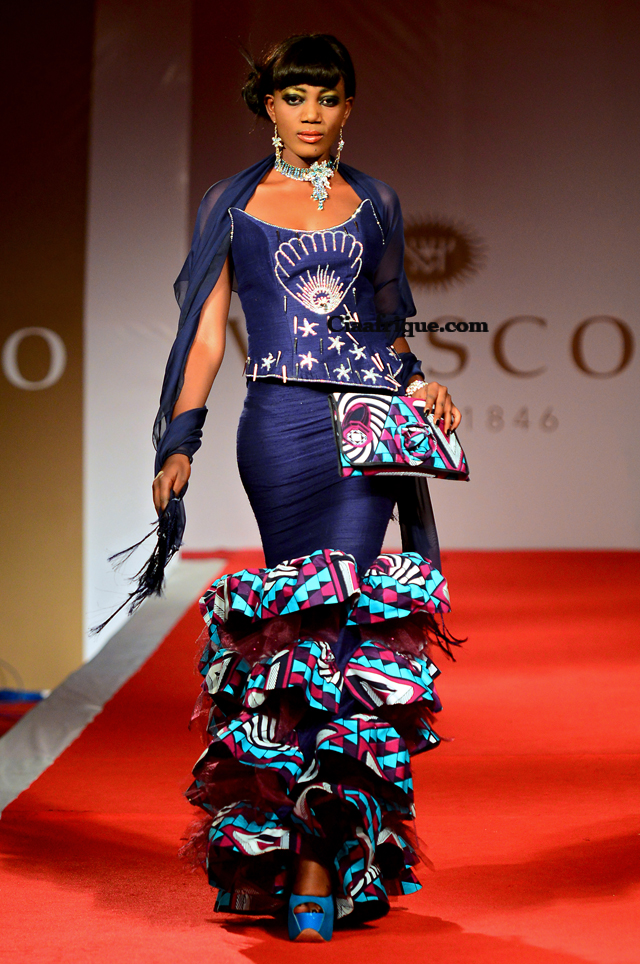 Vlisco fashion show cotonou 2012 grace wallace ciaafrique african fashion beauty style Ciaafrique fashion beauty style
