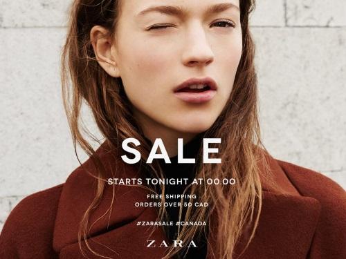 Zara Boxing Day Sale