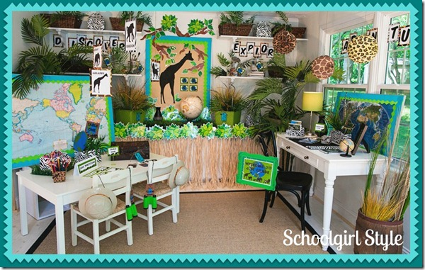 Jungle Classroom Decoration Ideas ~ Creative party ideas by cheryl classroom theme are