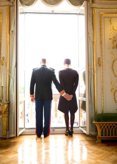 Princess Charlene, Prince Albert