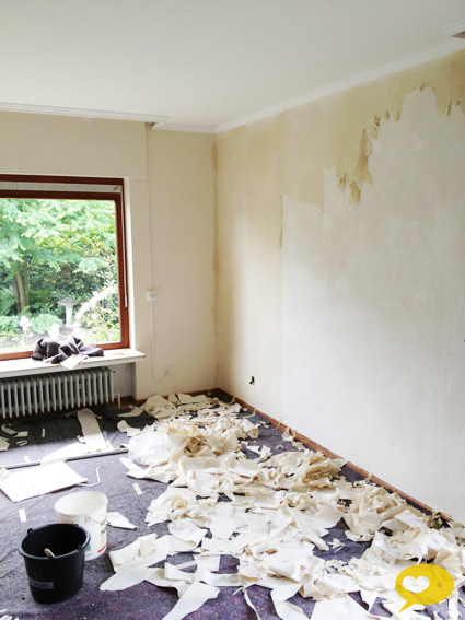 herzensgut - mit liebe gemacht!: es geht stetig weiter - Tapeten Wohnzimmer Ideen 2013