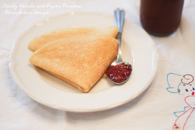 Pönnukokur or Crepes Recipe
