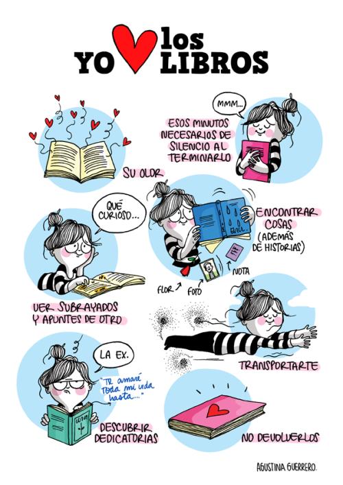 Eu amo os livros