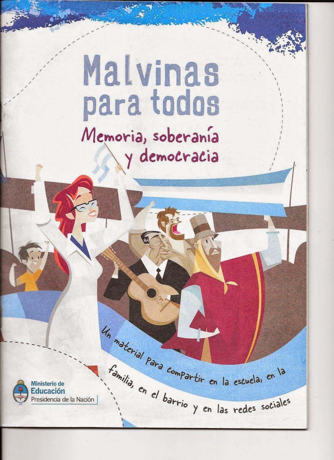 Malvinas para todos: memoria, soberanía y democracia.