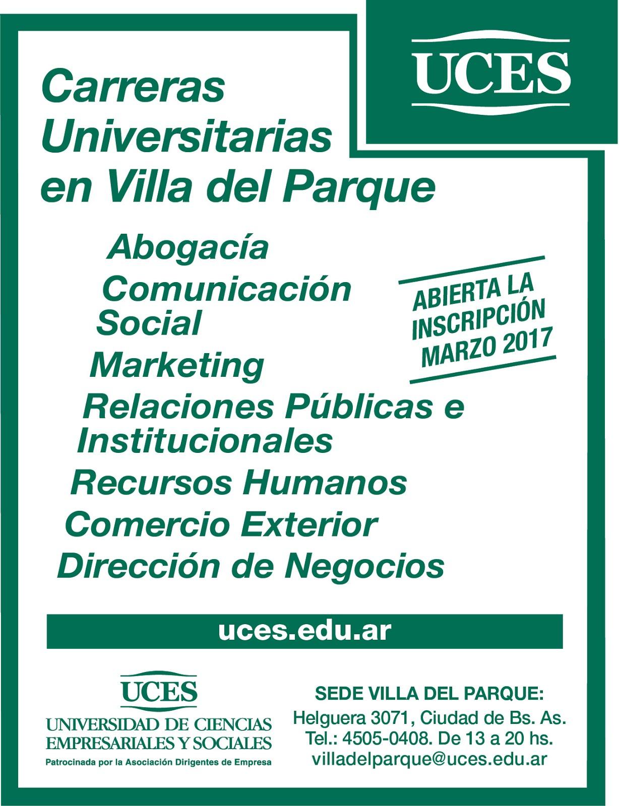 UCES - Sede Villa del Parque