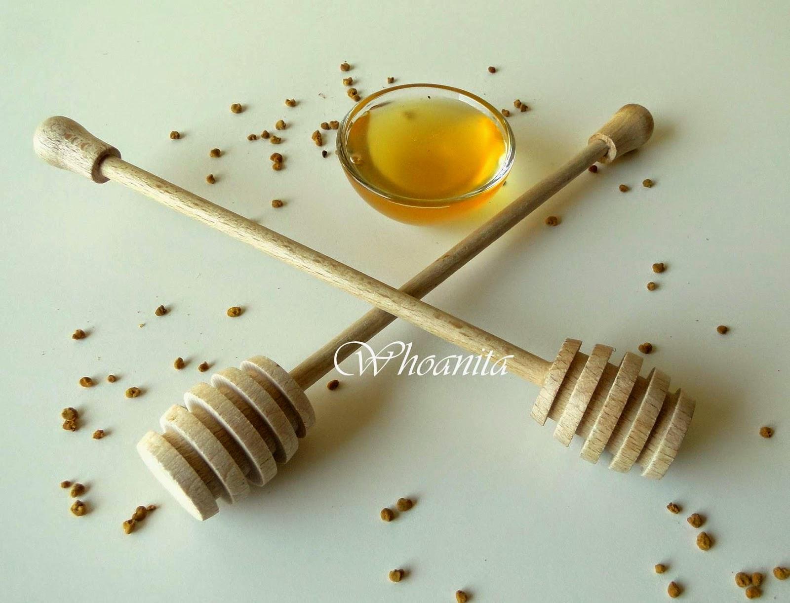 miód naturalny, pyłek pszczeli