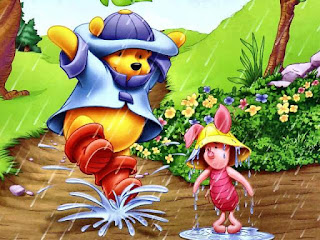 Winnie The Pooh dan Piglet Wallpaper Cantik