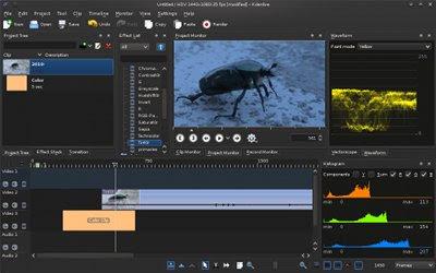 Cara Instal Video Editor Kdenlive 15.12.1 di Ubuntu atau Linux Mint