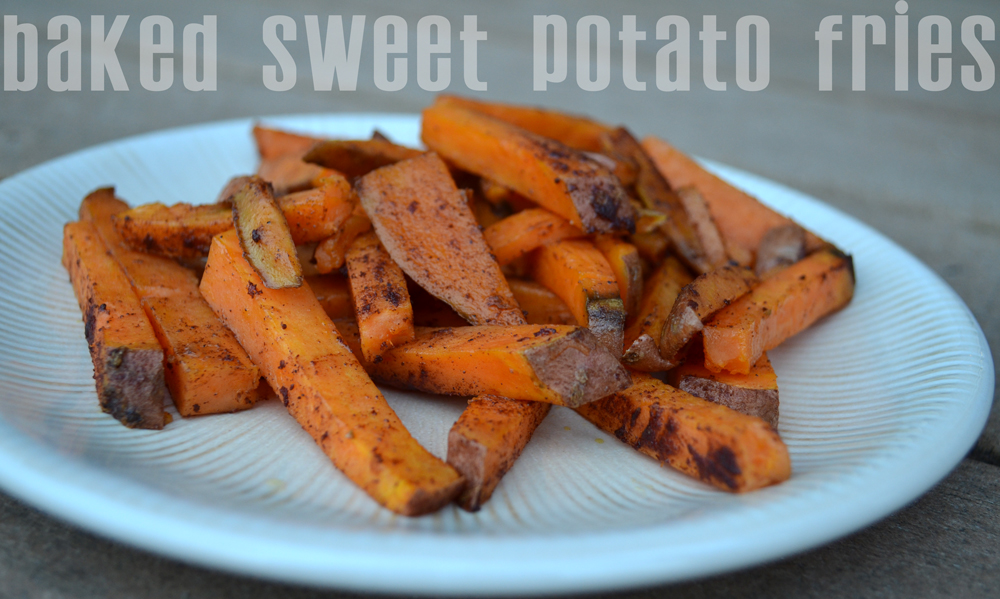 baked sweet potato fries Featured