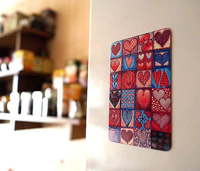 magnet with hearts