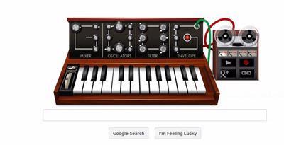"""Main Piano Elektronik di google.com """"hanya hari ini"""" 23 Mei 2011"""