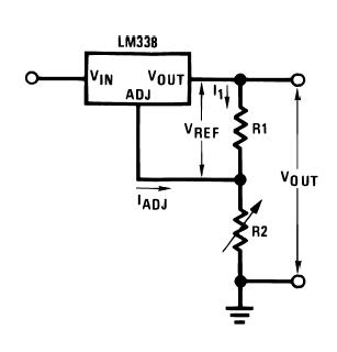 Circuit Regulator Lm138