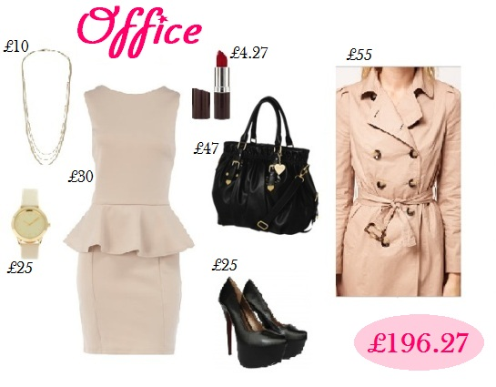 Office wear, passion for fashion, peplum dress