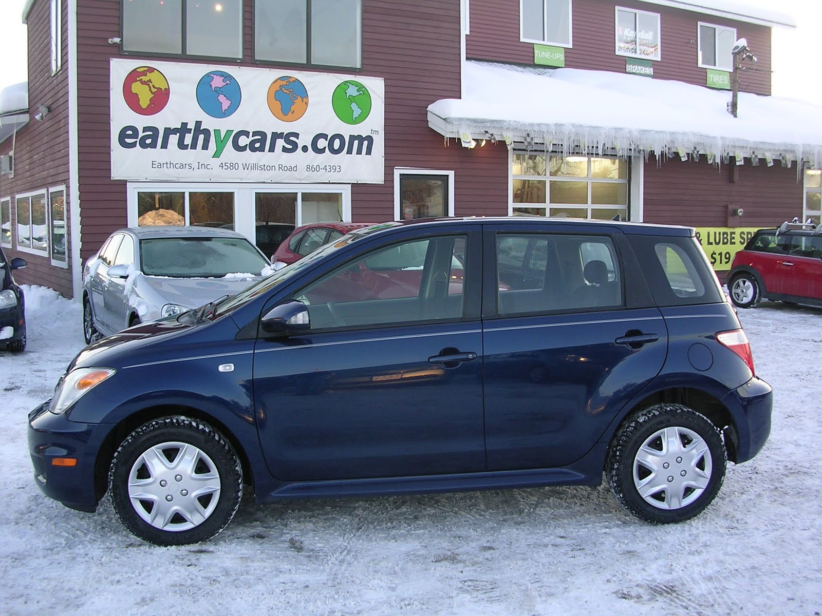 Beautiful EARTHY CAR OF THE WEEK: 2006 Scion XA   Blue