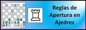 Reglas de Aperturas en Ajedrez