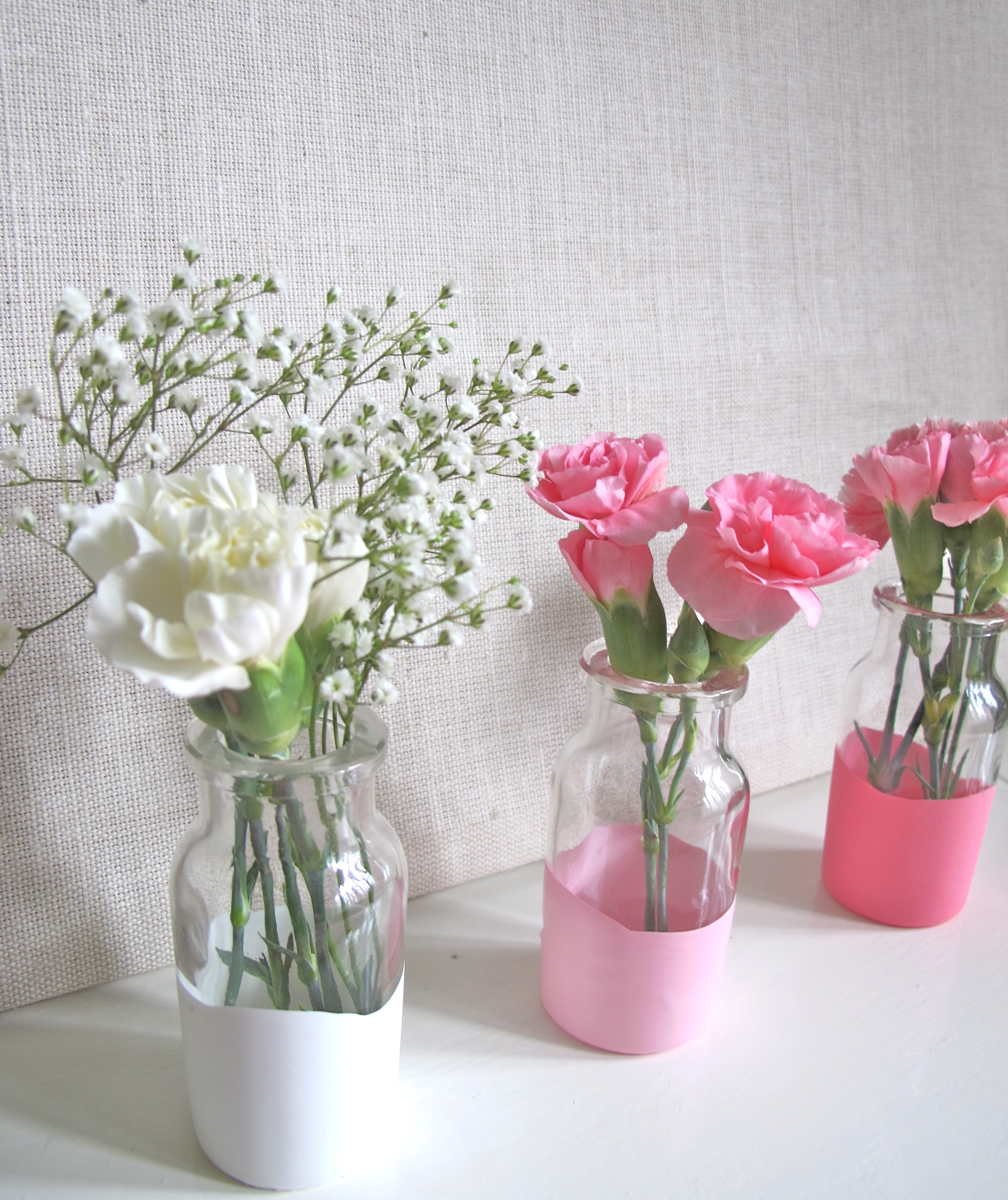 paper parade co easy dipped table vases