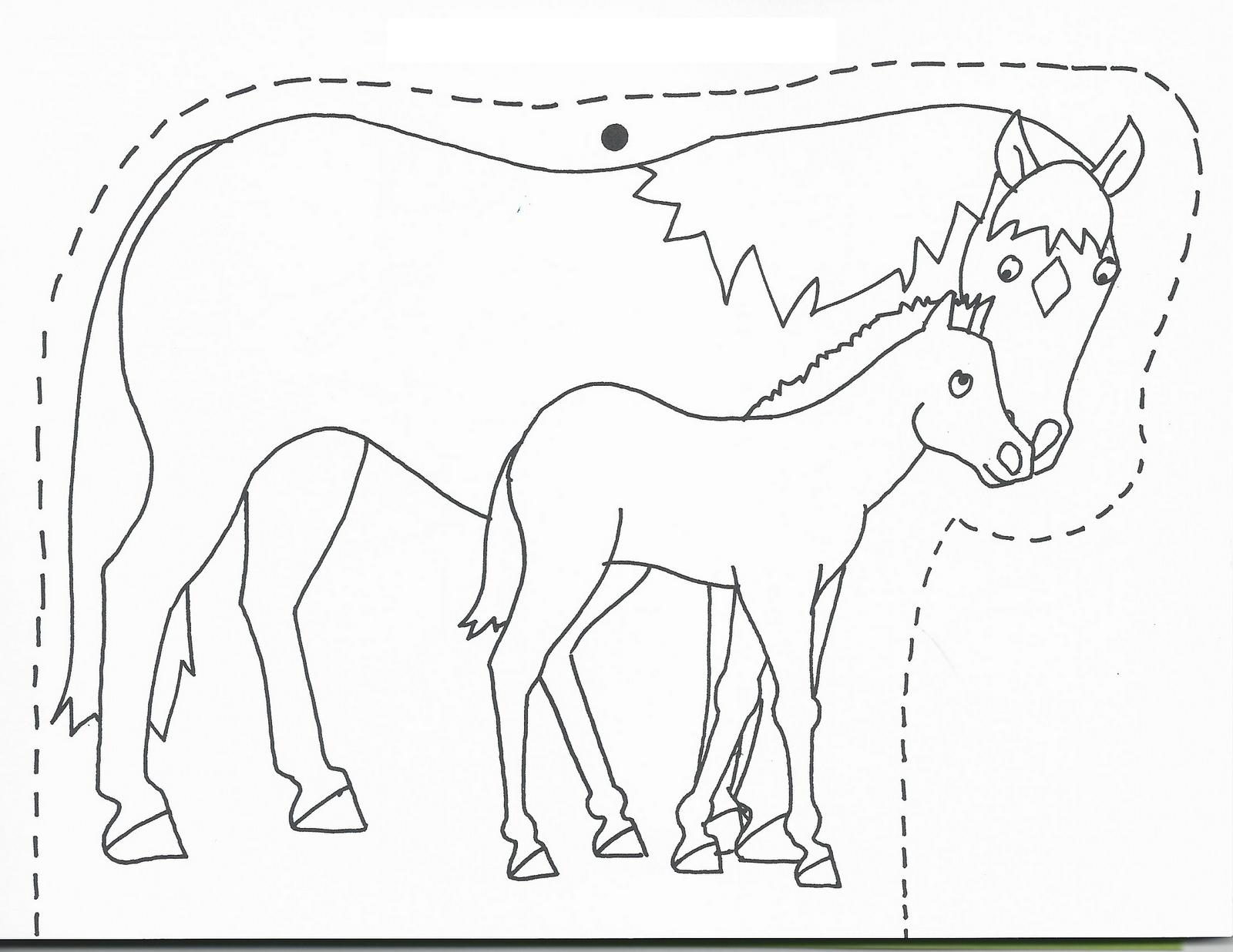 Disegni da colorare cavalli e pony da colorare con giochi for Disegni cavalli da stampare