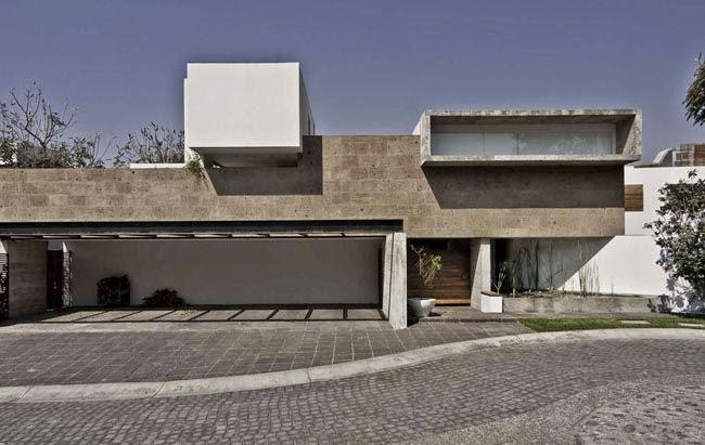 Casas minimalistas y modernas casa de hormigon en mexico for Casas modernas en mexico