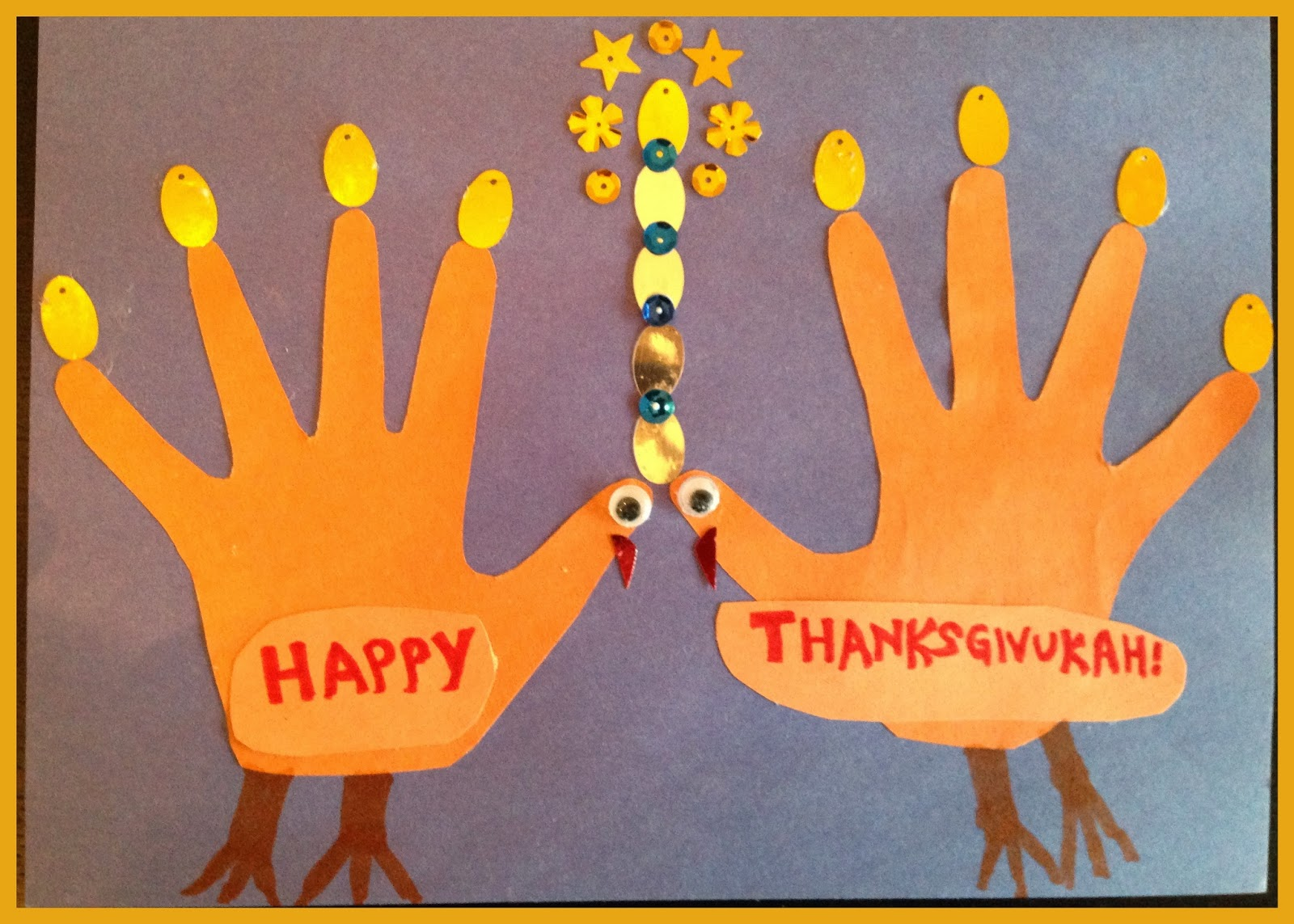 Uncategorized Handprint Menorah random handprints a nyc mom blog live from new jersey thanksgiving crafts and an itty bitty plug for great suffragist