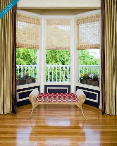 San Francisco Pacific Heights bay window after Kimball Starr Interior Design