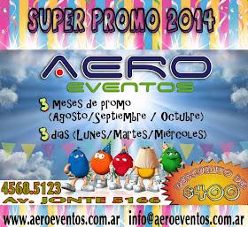 AERO EVENTOS  - SUPER PROMO!!!