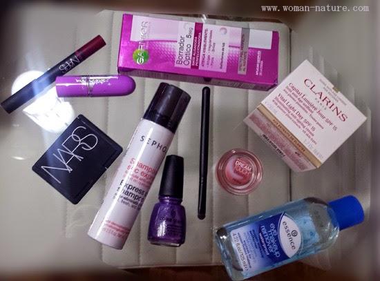 Compras diciembre cosmética