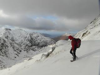 Knoydart - descending Luinne Bheinn