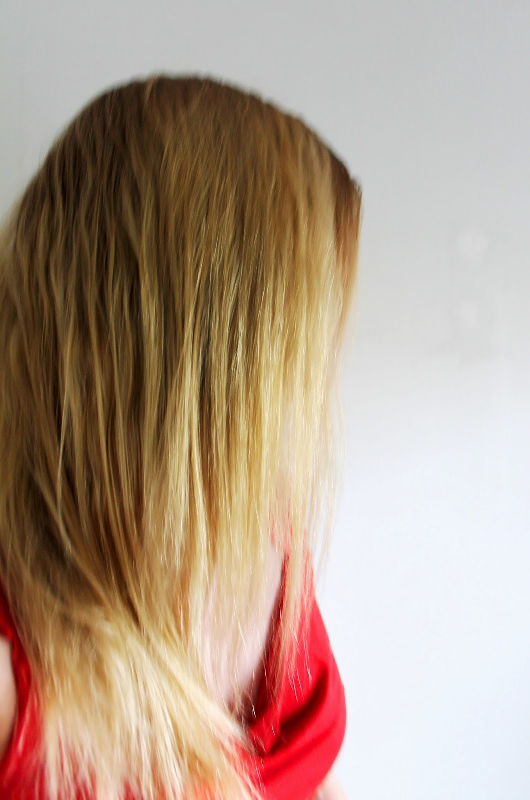 After, ombre that I created | Alinan kotona blog