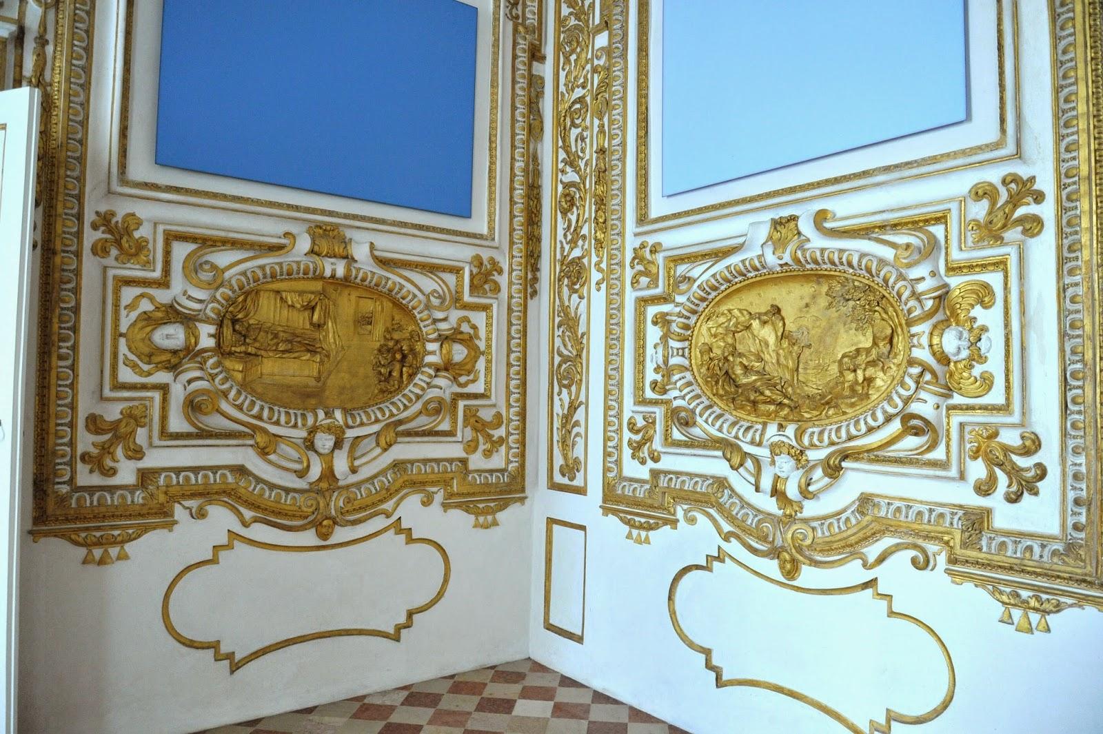 Visita al decoratissimo palazzo ducale di sassuolo for Camera dei sogni