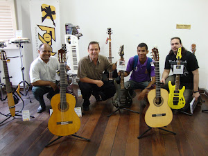 Robson, Prof. Carlos  Chenaud, Joubert e Rodrigo