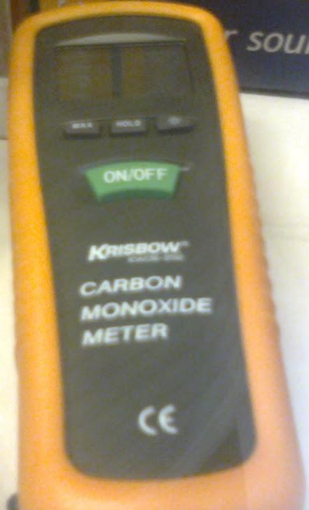Carbon monoxyde detector