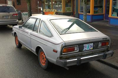 Old Parked Cars   1979 Datsun 210 Hatchback