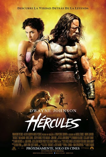 """Les recomendamos la película """"Hercules"""" basada en una novela grafica dirigida por Brett Ratner y protagonizada por Dwayne Johnson."""