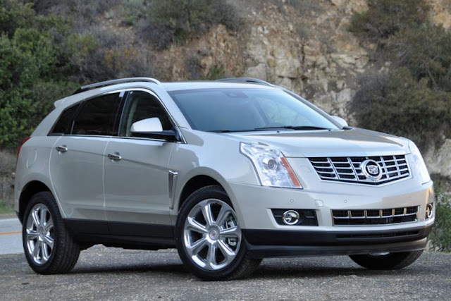 2015 New Cadillac SRX Changes front view