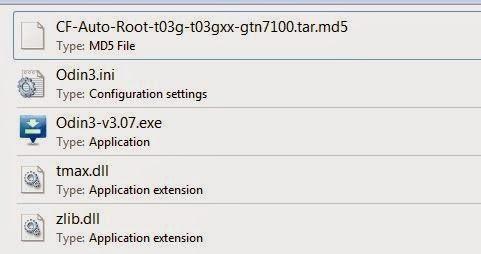 giải nén file root