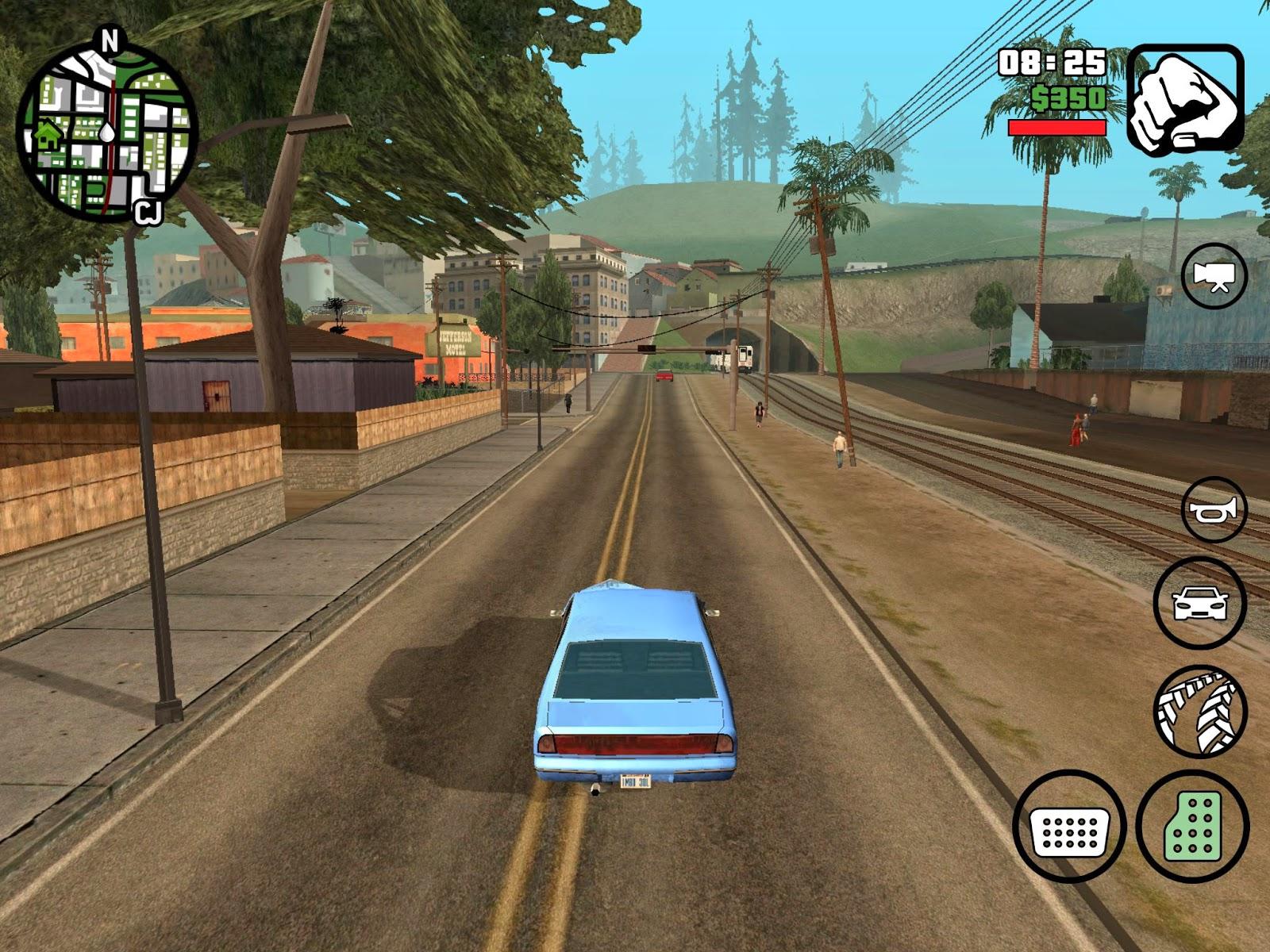 Gta San Andreas Apk Ekran Görüntüsü 1