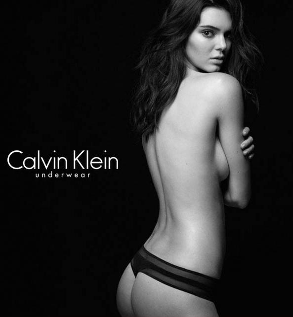Kendall Jenner em campanha Calvin Klein!