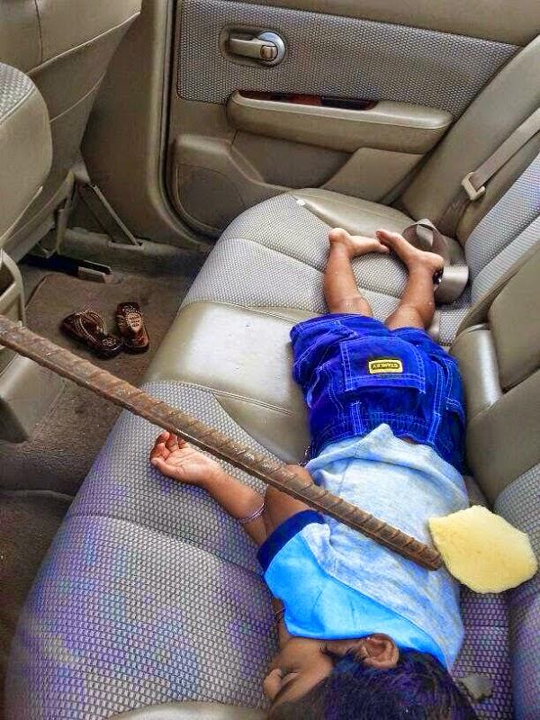 budak tidur elak mati