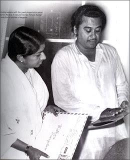 Kishor Kumar and Lata Mangeshkar