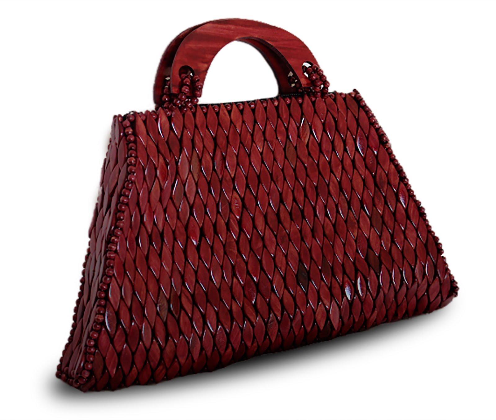 Handtasche aus Holz