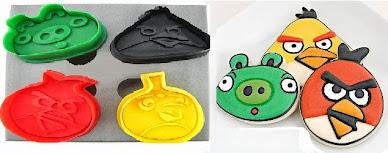 Cortador de Biscoito Angry Birds