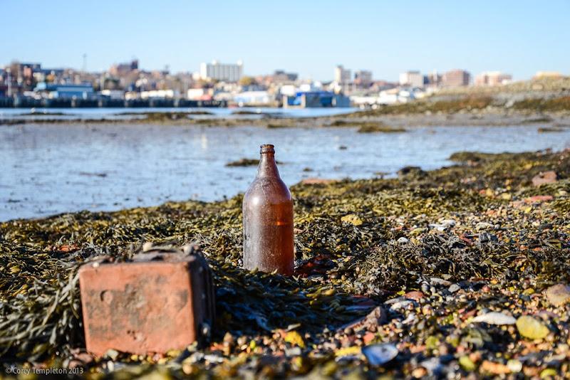 Portland, Maine Skyline and Casco Bay November 2013 Photo by Corey Templeton.